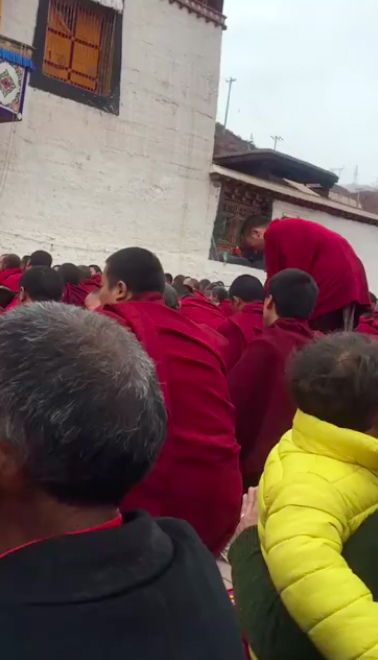 (2) The trance took place in Drayab Magon Monastery.