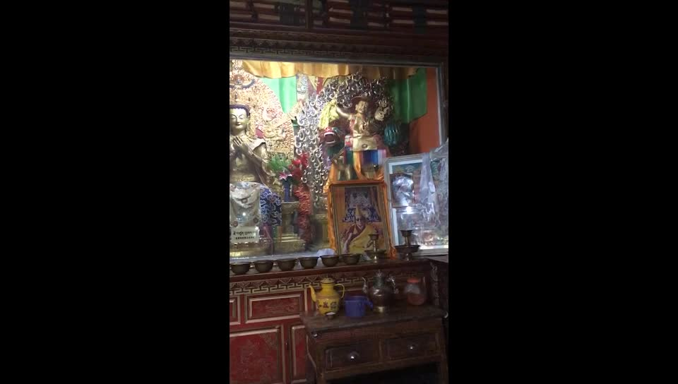 Monthly Dorje Shugden Puja Performed at Nagu Monastery, Dechen, Yunnan, China for Tsem Rinpoche