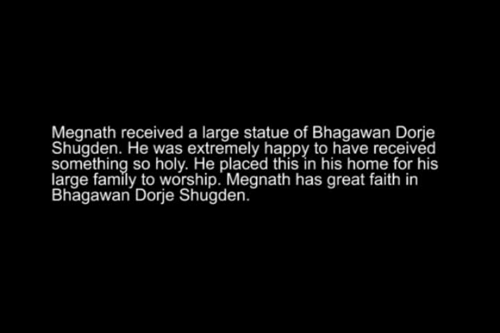 Megnath is such a devotee of Bhagawan Dorje Shugden where he brought this protector to many people. Must watch this short video of him with the school kids. Lovely. Tsem Rinpoche