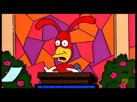 The Simpsons: Lisa becomes a Buddhist