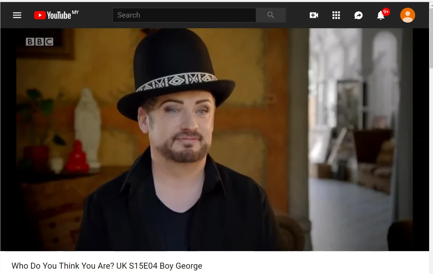 Interesting new interview of Boy George where he mentions about his practicing Buddhism- See the clip I snagged for you above. It's beautiful to see him chanting. Tsem Rinpoche